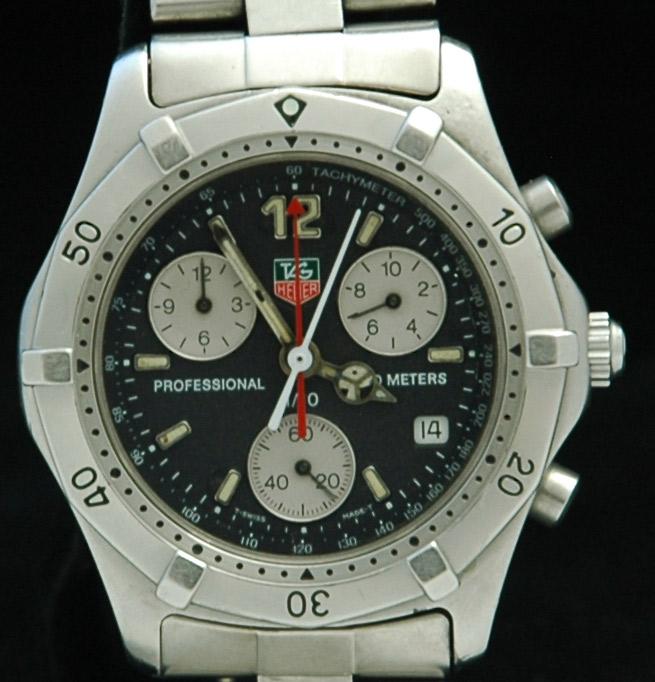 47cbd2f4826 TAG Heuer 2000 Chronograph Professional 200M | Modern Greed
