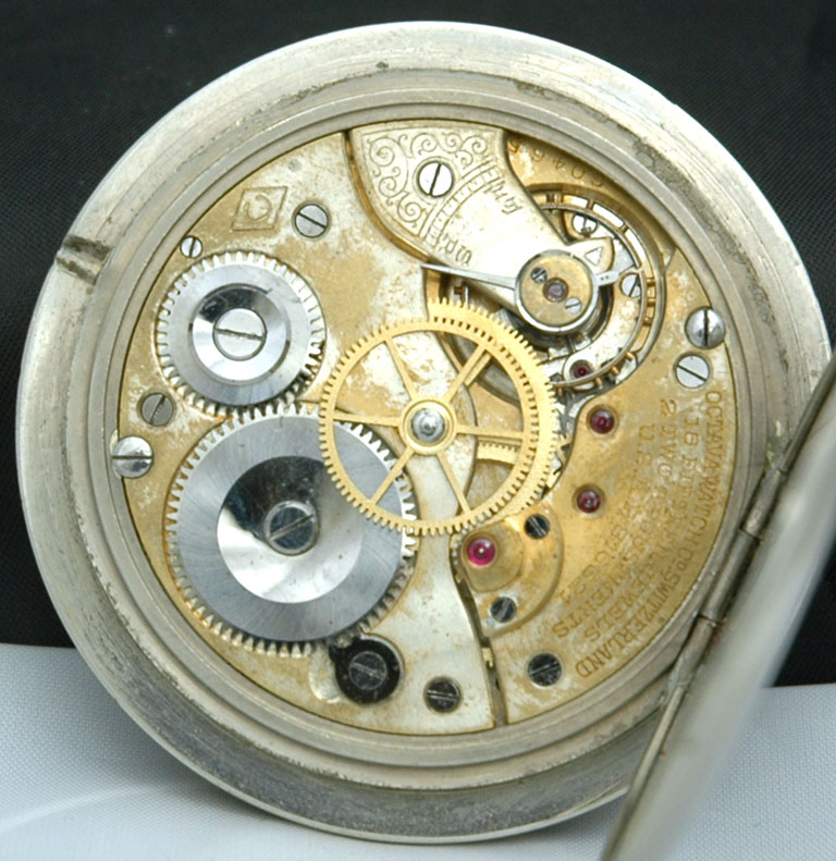 Octava Watch Co. Swiss Sterling Silver Enameled Travel ...